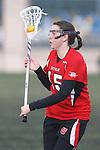 Santa Barbara, CA 02/19/11 - Kathryn Tillou (Utah #15) in action during the Utah-Nevada Reno game at the 2011 Santa Barbara Shootout.