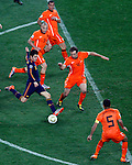Cesc Fabregas, Soccer, Football - 2010 FIFA World Cup - Johannesburg, South Africa, Sunday, July, 11, 2010. Final match, Netherlands vs Spain, Soccer City Stadium (credit & photo: Pedja Milosavljevic / +381 64 1260 959 / thepedja@gmail.com / STARSPORT )