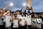 EUGENE, OR - JUNE 8: The Georgia Bulldogs celebrate their team victory during the Division I Men's Outdoor Track & Field Championship held at Hayward Field on June 8, 2018 in Eugene, Oregon. (Photo by Jamie Schwaberow/NCAA Photos via Getty Images)