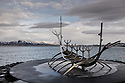 Sun Voyager (Icelandic: Sólfar) is a sculpture by Jón Gunnar Árnason, located next to the Sæbraut road in Reykjavík, Iceland. Sun Voyager is a dreamboat, an ode to the sun.