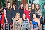 Anne Collins, Catriona O'Sullivan, Peggy Kelly, Denise Cleary, Catriona Morey, Amanda Jones, Marion Fitzgerald, Marie Finnegan and Sharon Lawlor enjoying their Christmas party from Munster Joinery, in The Ross Hotel, Killarney on Saturday night.