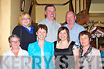 Joan Noonan Kiskeam celebrates her birthday with family in the Killarney Royal Hotel on Monday evening l-r: Jane O'Mahony, Joan Noonan, Iwona Boodauska, Mairead Hickey. Back row: Teresa Cleary, Pat McCarthy and Ted Cronin....   Copyright Kerry's Eye 2008