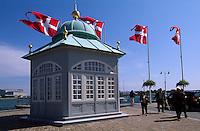 Daenemark, Kopenhagen, Strandpromenade beim Kastellet