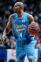 Asefa Estudiantes' Josh Fisher during Liga Endesa ACB match.January 6,2012. (ALTERPHOTOS/Acero) /NortePhoto