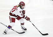 Anna McDonald (Harvard - 10) - The Harvard University Crimson defeated the Boston College Eagles 5-0 in their Beanpot semi-final game on Tuesday, February 2, 2010 at the Bright Hockey Center in Cambridge, Massachusetts.
