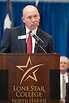 Dr. Steve Head, president of Lone Star College-North Harris