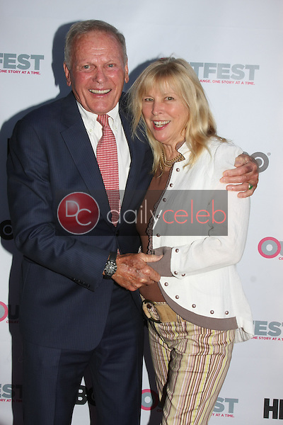 Tab Hunter, Candy Clark<br /> at the &quot;Tab Hunter Confidential&quot; at Outfest, DGA Theater, Los Angeles, CA 07-11-15<br /> David Edwards/DailyCeleb.com 818-249-4998