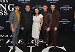 Joe Jonas, Paul Kevin Jonas Sr., Denise Miller-Jonas, Nick Jonas, and Kevin Jonas 119 arrives at the Premiere Of Amazon Prime Video's Chasing Happiness at Regency Bruin Theatre on June 03, 2019 in Los Angeles, California.