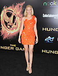 Elizabeth Banks attends the Lionsgate World Premiere of The hunger Games held at The Nokia Theater Live in Los Angeles, California on March 12,2012                                                                               © 2012 DVS / Hollywood Press Agency