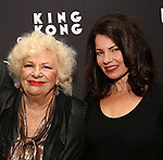 """Renee Taylor and Fran Drescher attends the Broadway Opening Night of """"King Kong - Alive On Broadway"""" at the Broadway Theater on November 8, 2018 in New York City."""