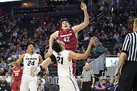 LAS VEGAS, NV - March 8, 2017: Washington State Cougars vs. the Colorado Buffaloes.  Final Score: Washington State 63, Colorado Buffaloes 73
