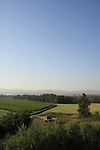 Israel, Upper Galilee, a view from Tel Qalil