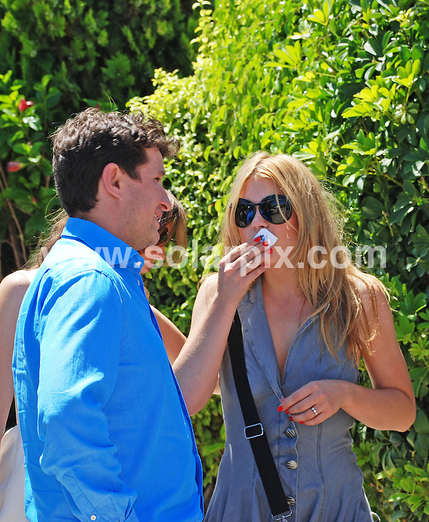 **ALL ROUND PICTURES FROM SOLARPIX.COM**.**WORLDWIDE SYNDICATION RIGHTS**.Chris Evans and his new wife Natasha Shishmanian, along with his ex wife Billie Piper and other guests arrive at the Alambique restaurant near vale do Lobo at 13:45 for their wedding reception following the blessing of ther vows at a local Roman Catholic Church in Santa Barbara.JOB REF: 4478     PPL        DATE: 15.08.07.**MUST CREDIT SOLARPIX.COM OR DOUBLE FEE WILL BE CHARGED* *UNDER NO CIRCUMSTANCES IS THIS IMAGE TO BE REPRODUCED FOR ANY ONLINE EDITION WITHOUT PRIOR PERMISSION*