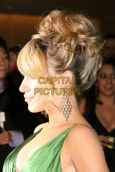 HAYLIE DUFF.The 8th Annual Family Television Awards at the Beverly Hilton Hotel, Beverly Hills, California, USA..November 29th, 2006.headshot portrait profile earring.CAP/ADM/BP.©Byron Purvis/AdMedia/Capital Pictures