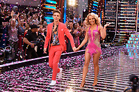 "Joe Sugg and Katie Piper<br /> at the launch of ""Strictly Come Dancing"" 2018, BBC Broadcasting House, London<br /> <br /> ©Ash Knotek  D3426  27/08/2018"