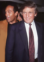 Donald Trump OJ Simpson 1993<br /> Photo by John Barrett/PHOTOlink.net