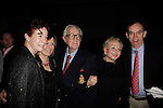 """SANTA MONICA -FEB 11: Alba Francesca, James Karen at """"Hal Holbrook in Mark Twain TONIGHT!,"""" a benefit for The Actors Fund, at The Broad Stage on February 11, 2016 in  Santa Monica, California"""