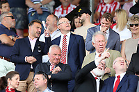 Lincoln City fans wait for kick-off<br /> <br /> Photographer Rich Linley/CameraSport<br /> <br /> The EFL Sky Bet League One - Lincoln City v Bristol Rovers - Saturday September 14th 2019 - Sincil Bank - Lincoln<br /> <br /> World Copyright © 2019 CameraSport. All rights reserved. 43 Linden Ave. Countesthorpe. Leicester. England. LE8 5PG - Tel: +44 (0) 116 277 4147 - admin@camerasport.com - www.camerasport.com