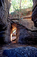 deep inside Arnhem land, a sacret site for the local Aboriginals. Northern Territory, Australia
