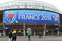 Ambiance devant le stade des Alpes<br /> Grenoble 09-06-2019 <br /> Football Womens World Cup <br /> Brazil - Jamaica <br /> Brasile - Giamaica<br /> Photo Frederic Chambert / Panoramic/Insidefoto <br /> ITALY ONLY
