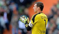 FUSSBALL   1. BUNDESLIGA   SAISON 2013/2014   7. SPIELTAG SV Werder Bremen - 1. FC Nuernberg                    29.09.2013 Raphael Schaefer (1. FC Nuernberg)