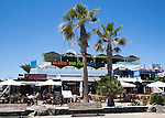 Bars and discos in resort of Playa Blanca, Lanzarote, Canary Islands, Spain