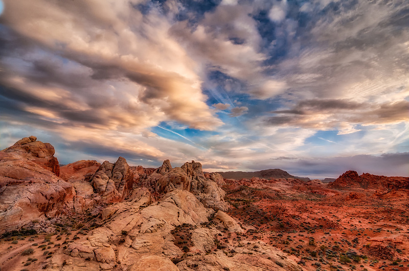 One of my favorite places to photograph landscapes - Valley of Fire, Nevada.