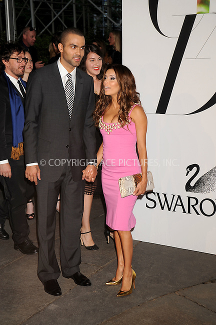 WWW.ACEPIXS.COM . . . . .....June 2, 2008. New York City.....NBA basketball player Tony Parker and actress Eva Longoria Parker attend the 2008 CFDA Fashion Awards held at the New York Public Library...  ....Please byline: Kristin Callahan - ACEPIXS.COM..... *** ***..Ace Pictures, Inc:  ..Philip Vaughan (646) 769 0430..e-mail: info@acepixs.com..web: http://www.acepixs.com