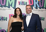 "Jennifer Diamond and Danny Vaccaro Attend the Broadway Opening Night of ""The Prom"" at The Longacre Theatre on November 15, 2018 in New York City."