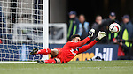 Wes Foderingham saves from Scott Brown