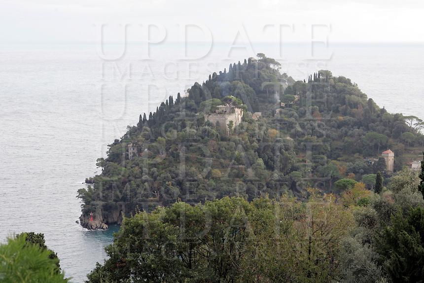 Veduta della penisola di Portofino.<br /> View of the peninsula of Portofino.<br /> UPDATE IMAGES PRESS/Riccardo De Luca