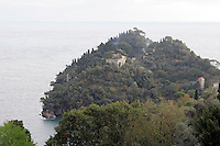 Veduta della penisola di Portofino.<br /> View of the peninsula of Portofino.<br /> UPDATE IMAGES PRESS/Riccardo De Luca