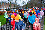 The start of the fourth anniversary Tralee Park Run in the the Town Park on Saturday morning.