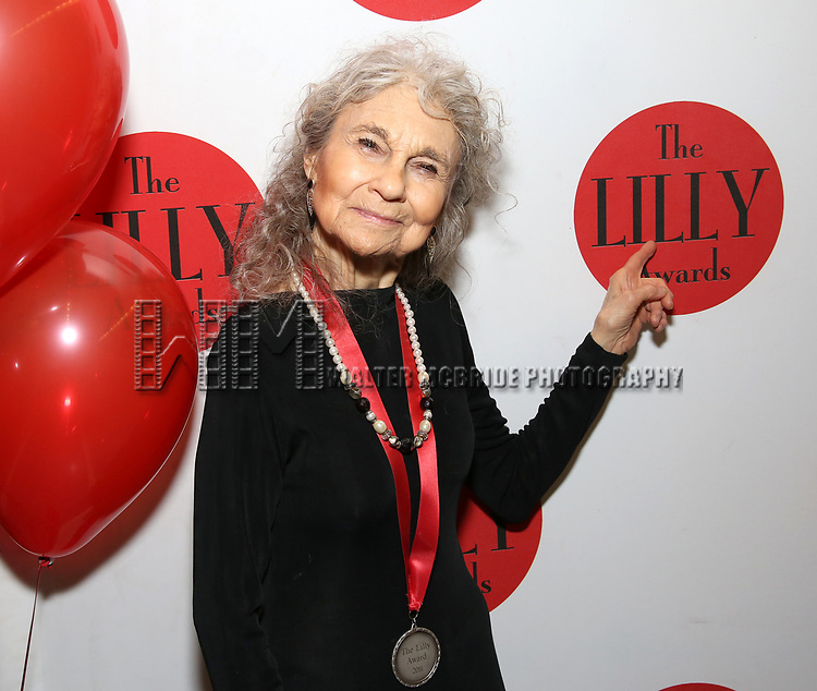 Lynn Cohen attends the The Lilly Awards  at Playwrights Horizons on May 22, 2017 in New York City.