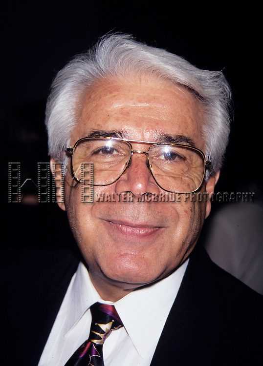 """Jerry Vale at Opening Night """"Forum"""" in New York City at the St. James Theater, Party held at Marriott Marquid Hotel on April 18th, 1996."""