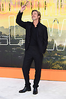 "LONDON, UK. July 30, 2019: Brad Pitt at the UK premiere for ""Once Upon A Time In Hollywood"" in Leicester Square, London.<br /> Picture: Steve Vas/Featureflash"