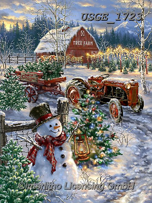 Dona Gelsinger, CHRISTMAS SANTA, SNOWMAN, WEIHNACHTSMÄNNER, SCHNEEMÄNNER, PAPÁ NOEL, MUÑECOS DE NIEVE, paintings+++++,USGE1723,#x#