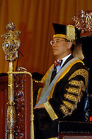 Dr The Honourable Donald Tsang Yam Kuen, Chancellor of The University of Hong Kong (HKU), conferred honorary degrees upon six outstanding individuals at the 173rd Congregation on March 14, 2006.