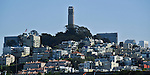 Telegraph Hill & Coit Tower, San Francisco. Bob & Lou's trip to California Nov. 2015. (Bob Gathany Photographer)