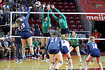 11 November 2017:   IHSA Class 3A Girls Volleyball Consolation between Normal UHigh Pioneers and St Viator Lions at Redbird Arena in Normal IL