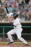April 17, 2010: Jay Austin of the Lancaster JetHawks during game against the Rancho Cucamonga Quakes at Clear Channel Stadium in Lancaster,CA.  Photo by Larry Goren/Four Seam Images