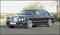 BNPS.co.uk (01202 558833)<br /> Pic: H&amp;H/BNPS<br /> <br /> 2006 Bentley Arnage RL with only 4900 miles on the clock - &pound;35,000.<br /> <br /> The &pound;1,000,000 garage sale... a stunning collection of luxury cars seized from the personal collection of a Middle Eastern sheikh has emerged. <br /> <br /> The impressive fleet, comprising Ferrari, Rolls-Royce and Bentley motors, has arrived at auction following a high court ruling against their former owner.<br /> <br /> Due to their unusual history many of the cars, all of which were UK based and have unusually low mileages, are being offered at a bargain price.