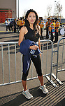 PACOIMA, CA. - October 10: Stephanie Jacobsen arrives at The 2009 American Dream Walk To Benefit Habitat For Humanity at Lowe's Home Improvement on October 10, 2009 in Pacoima, California.