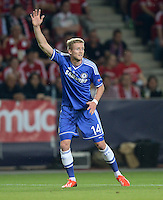 FUSSBALL  SUPERCUP  FINALE  2013  in Prag    FC Bayern Muenchen - FC Chelsea London          30.08.2013 Andre Schuerrle (FC Chelsea)