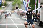 Elisa Longo-Borghini (ITA) Trek-Segafredo wins Stage 4 of the 2019 Emakumeen Bira, running 155.8 km starting and finishing in Onati, Spain. 25th May 2019.  <br /> Picture: Trek/Balint Hamvas/Velofocus   Cyclefile<br /> <br /> <br /> All photos usage must carry mandatory copyright credit (© Cyclefile   Trek/Balint Hamvas/Velofocus)