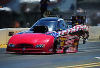 Jul. 31, 2011; Sonoma, CA, USA; NHRA funny car driver Gary Densham during the Fram Autolite Nationals at Infineon Raceway. Mandatory Credit: Mark J. Rebilas-