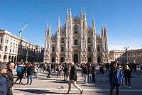 Milano, piazza Duomo.