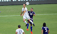 Carson, CA - September 11, 2016: The LA Galaxy go on to defeat Orlando City SC 4-2 in a Major League Soccer (MLS) match at StubHub Center.