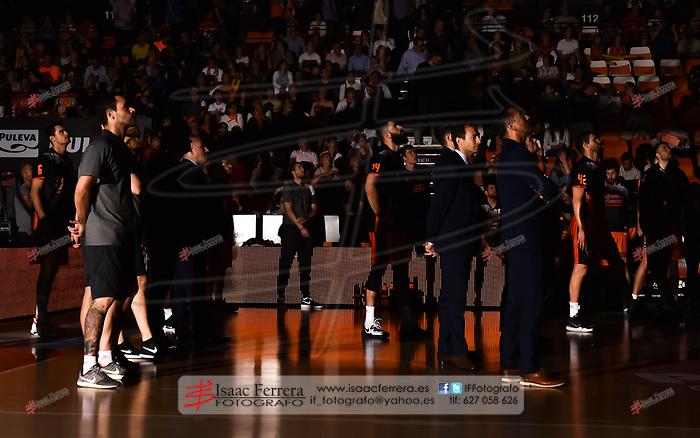 ACB PlayOff 18/19 Quarterfinals.<br /> Match 3.<br /> Valencia Basket 79 - 76 Unicaja Malaga.<br /> La Fuente de San Luis Pavillion (aka La Fonteta)<br /> 2019 - 06 - 04