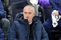 Tottenham Hotspur manager Jose Mourinho during Tottenham Hotspur vs RB Leipzig, UEFA Champions League Football at Tottenham Hotspur Stadium on 19th February 2020